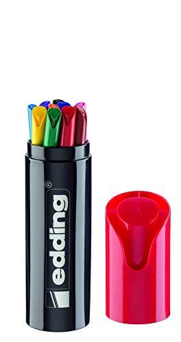 Pack de 10 Edding de colores con estuche metálico Edding Gigante