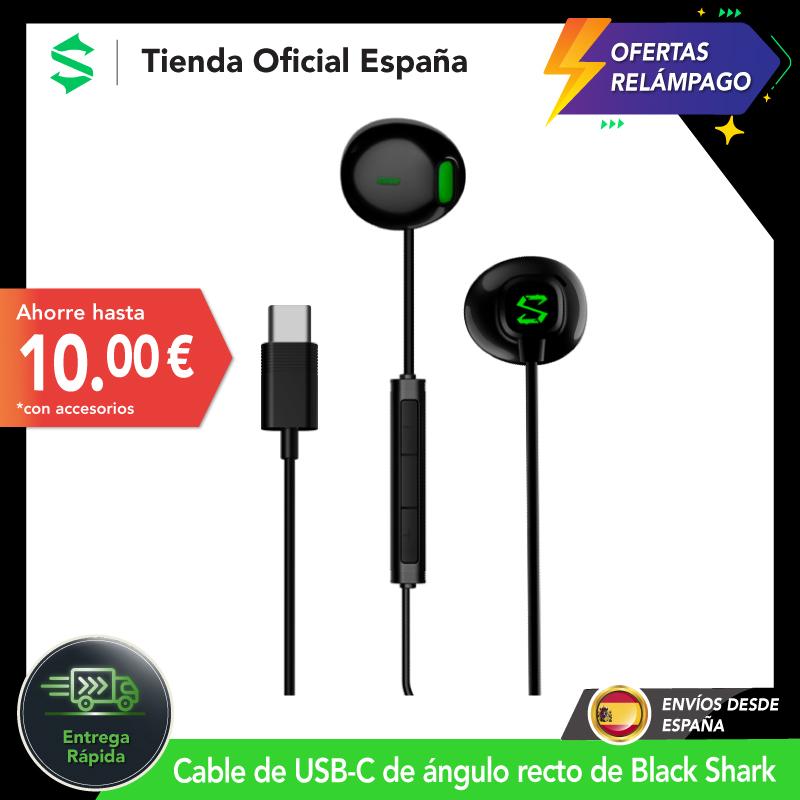 Auriculares Xiaomi Black Shark tipo C para juegos desde España