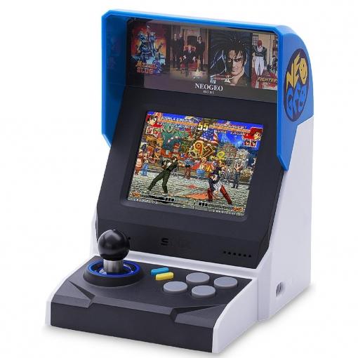 Consola Retro SNK Neo Geo Mini + 40 Juegos