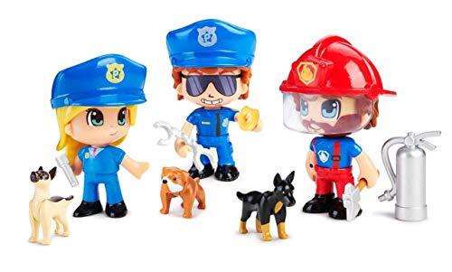 Famosa- Pinypon Action. Figura Emergencia con Perro