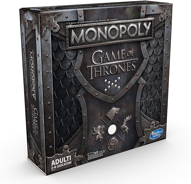 """Hasbro Monopoly Juego de tronos(italiano) Reaco """"como nuevo"""" Amazon"""