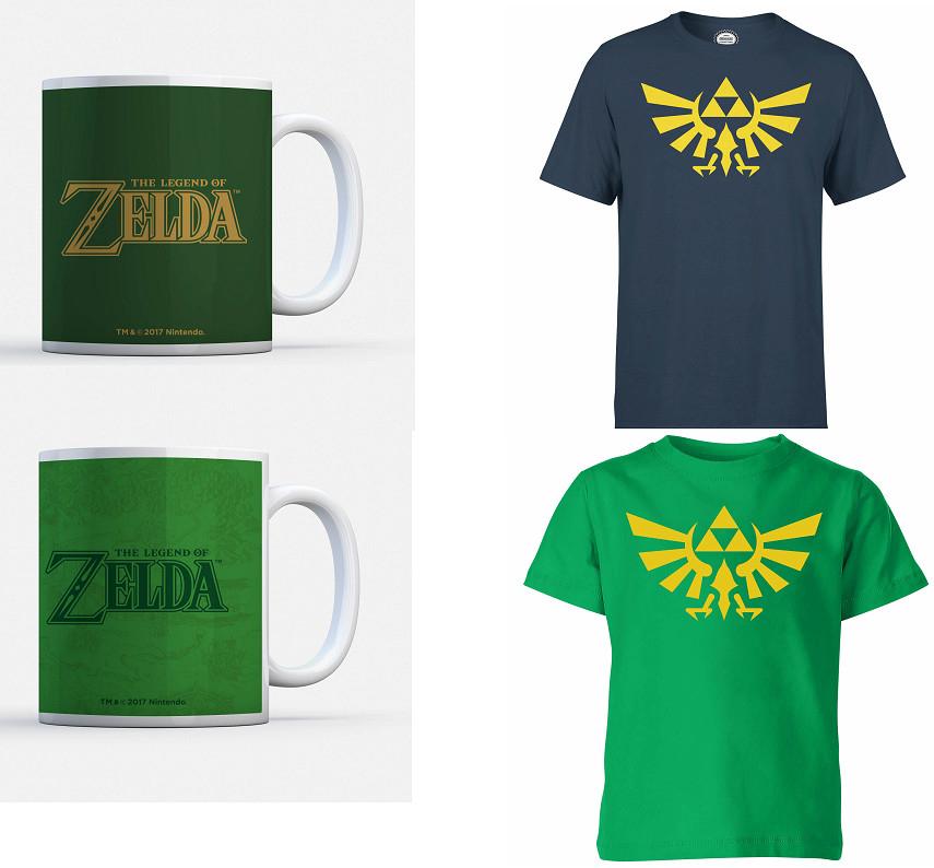 Camiseta + Taza de Zelda por sólo 9,99€ (Envío gratis)