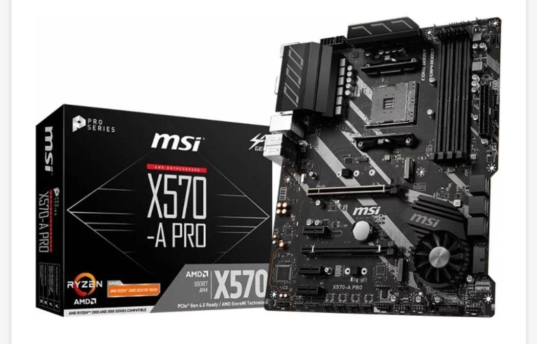 Placa Base MSI X570-A Pro