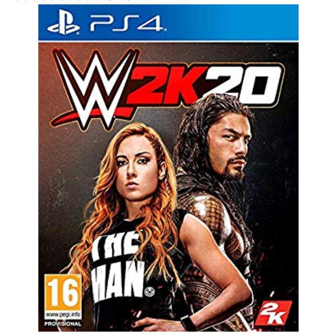WWE 2k20 para PS4