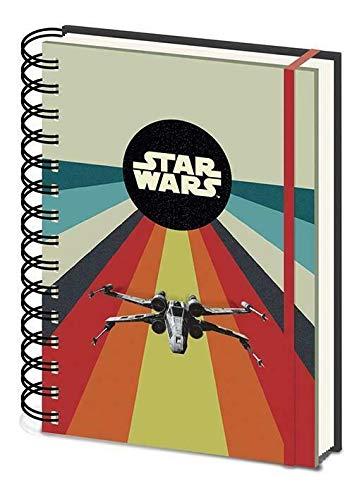 Cuaderno de notas A5 con espiral – Star Wars