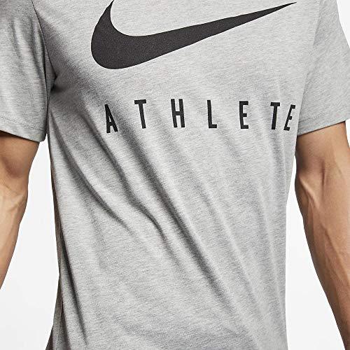Nike M Nk Dry tee Db Athlete T-Shirt, Hombre talla L.