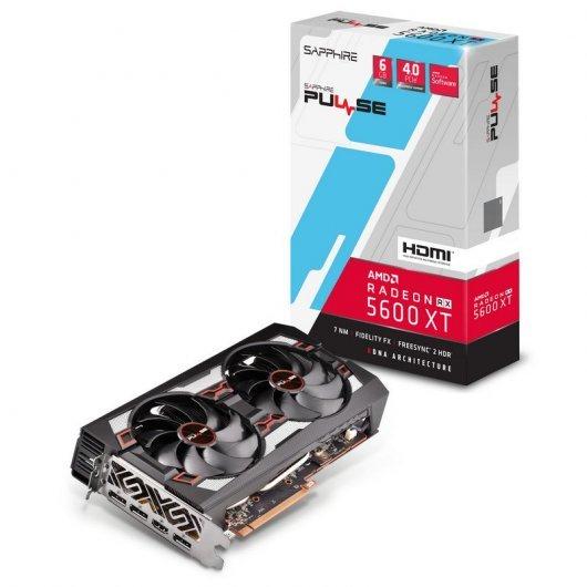 Sapphire Pulse Radeon RX 5600 XT (rendimiento similar a la RTX 2060)