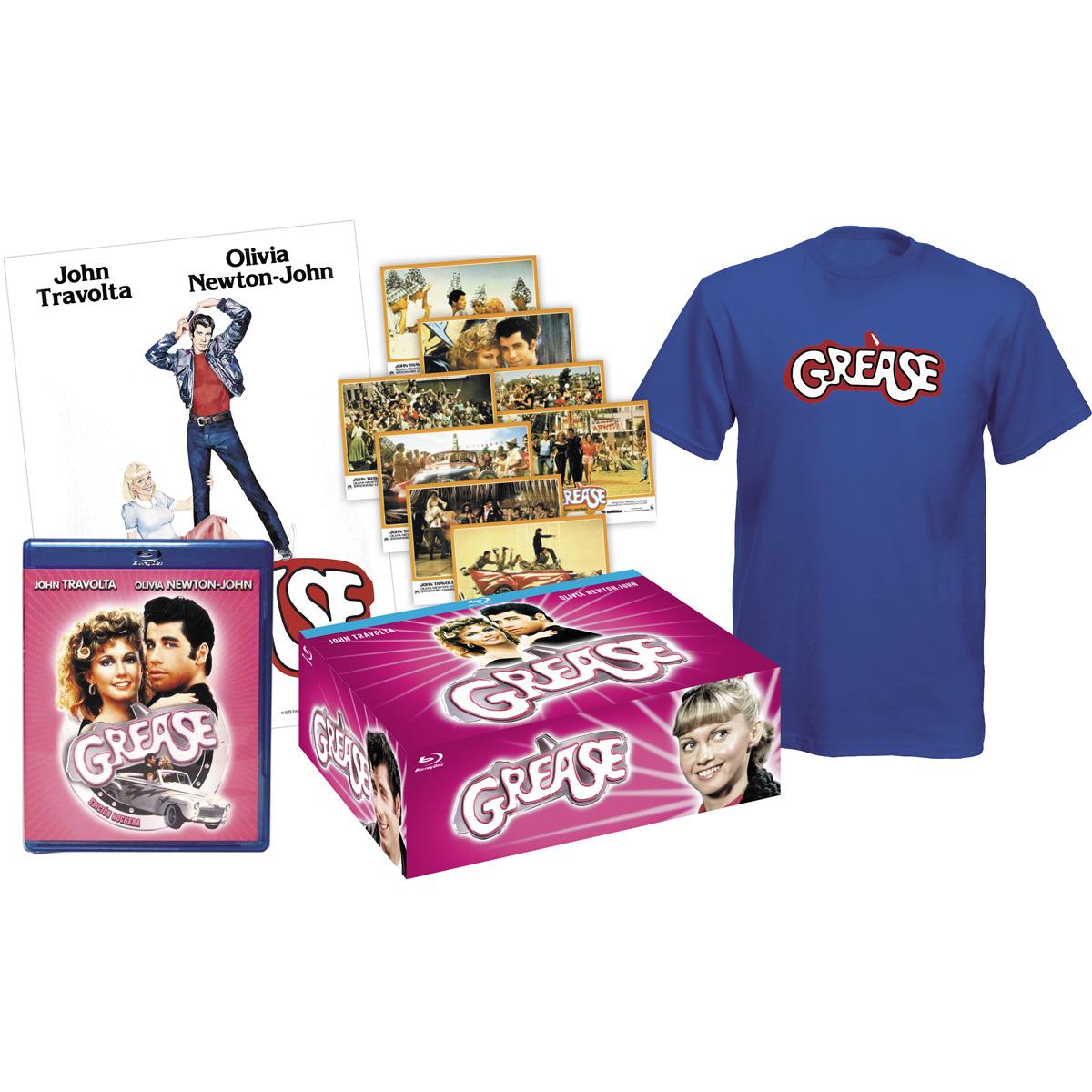 Edición Exclusiva Grease: Película Blu-Ray + Camiseta Talla L + Póster + 8 postales por 1€