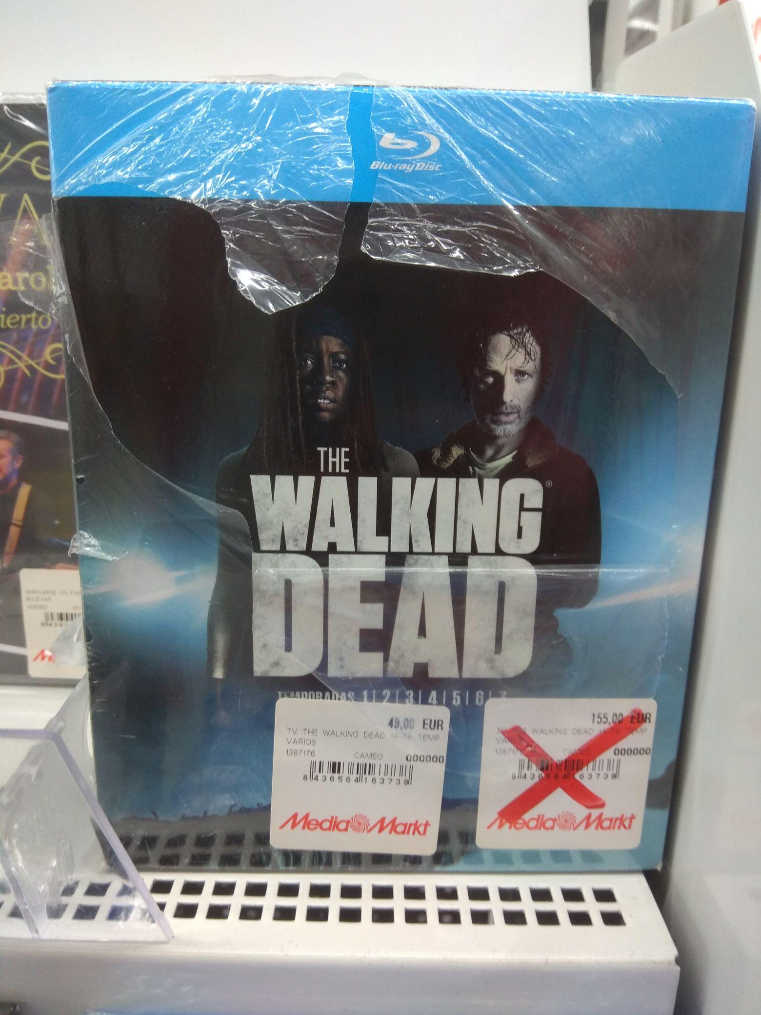 The Walking Dead (Temporadas 1-7). Blu-Ray