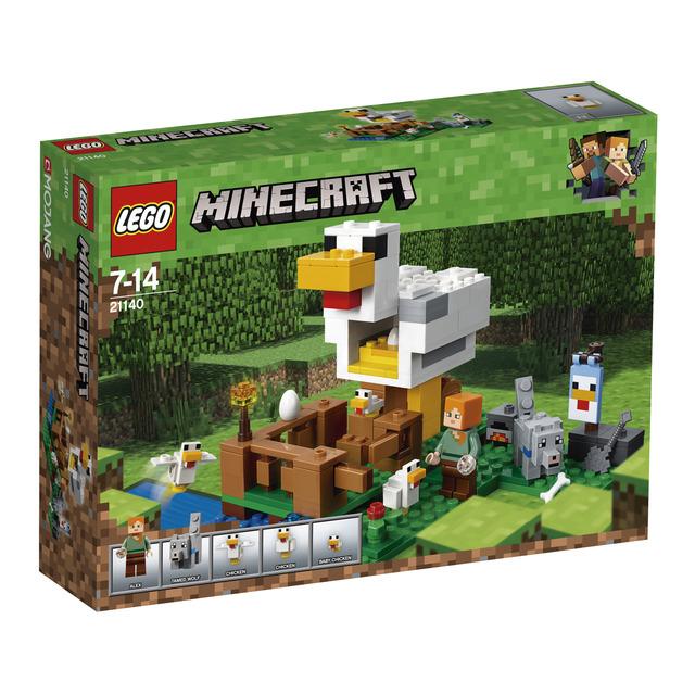 Gallinero Lego Minecraft 198 Piezas 14.7€