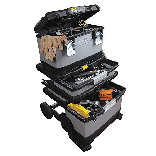 Sistema de almacenamiento de herramientas STANLEY FATMAX - Taller móvil , color metálico