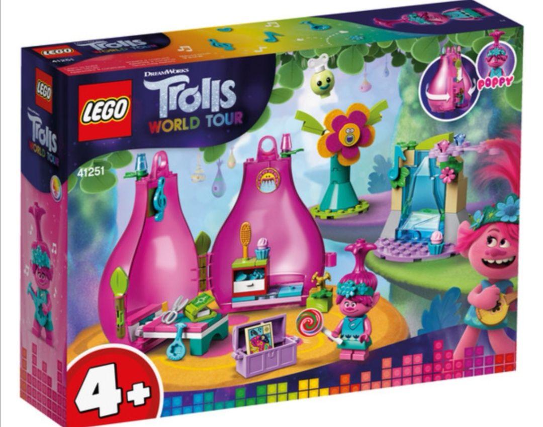LEGO Trolls - Vaina de Poppy, Set de Construcción de Casa de Muñecas.