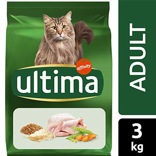 3kg Ultima Pienso para Gatos Adulto con Pollo