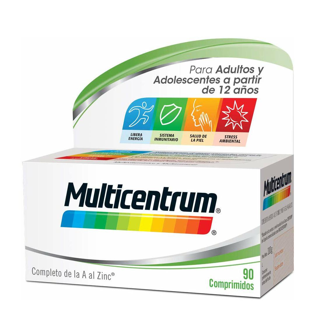 Complemento alimenticio Multicentrum, 90 comprimidos