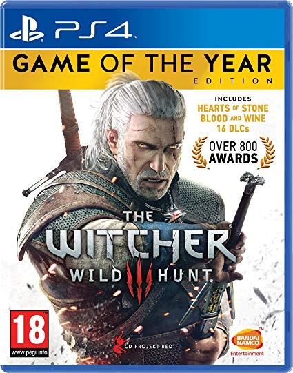 The Witcher III PS4 Versión Inglesa