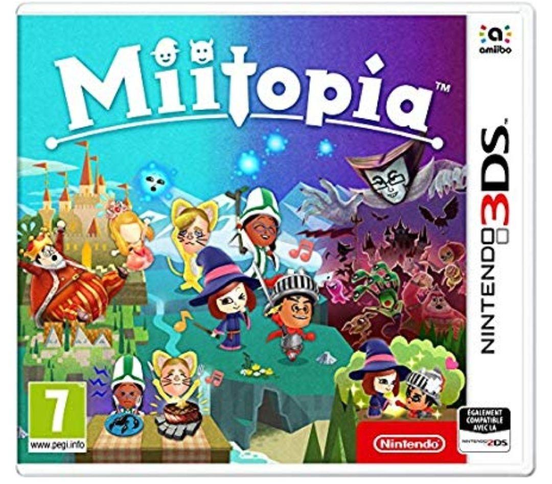 Miitopia [Importación francesa] Para Nintendo 3DS