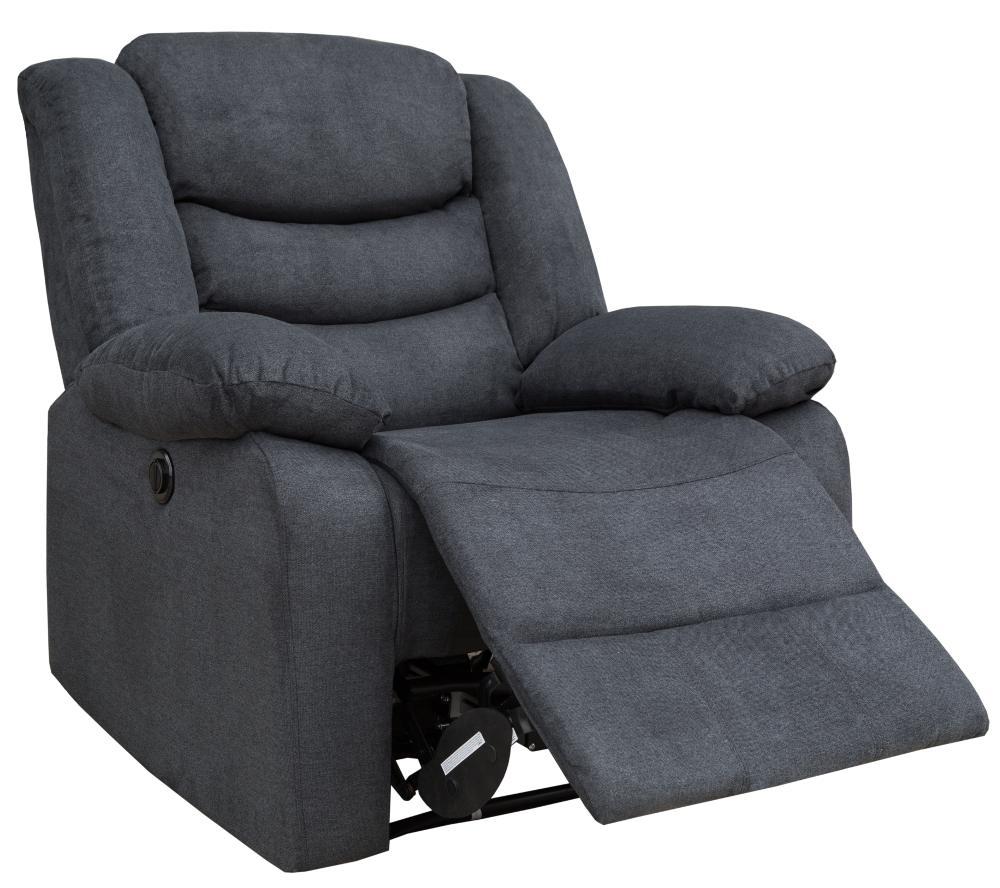 Sillón relax motorizado de tela CHEF