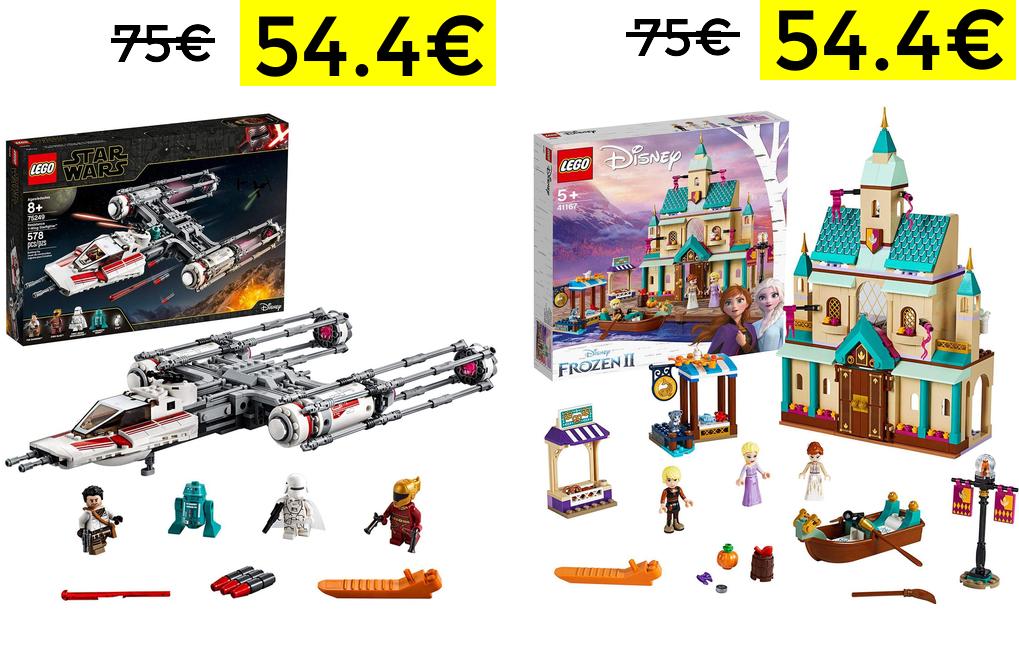 Más descuentos en LEGO