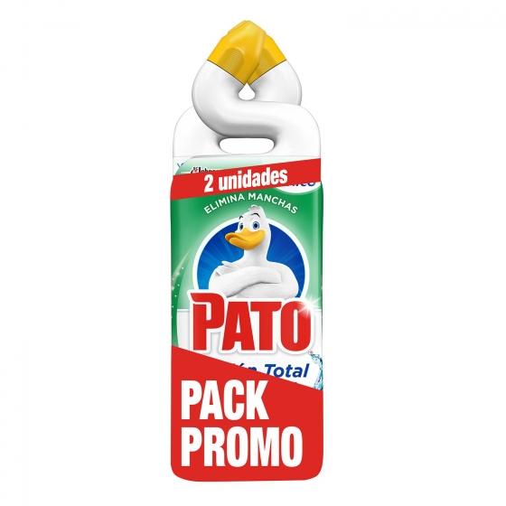 Limpiador de baño frescor en gel Pato pack de 6 unidades de 750 ml.(1,24 la unidad)