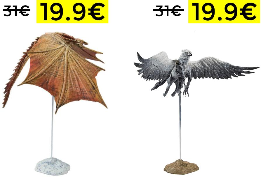 Figuras Juego de Tronos y H.Potter 19.9€