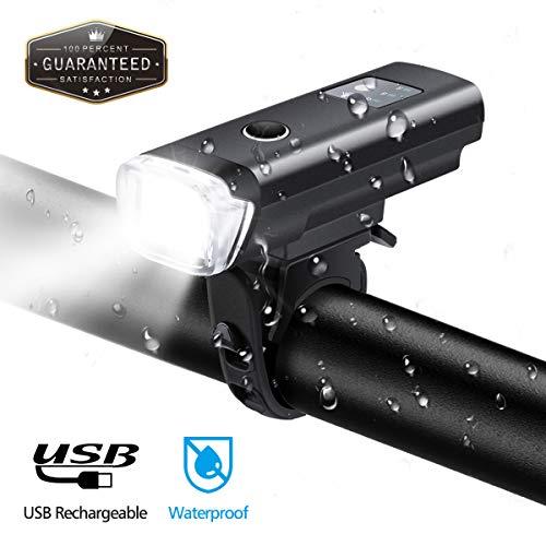 OUTERDO 600 lúmenes Luz/Faro LED IPX6 Impermeable ideal para patinetes o bicis