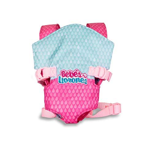 IMC Toys - Bebés Llorones, Portabebés Mochila portabebés