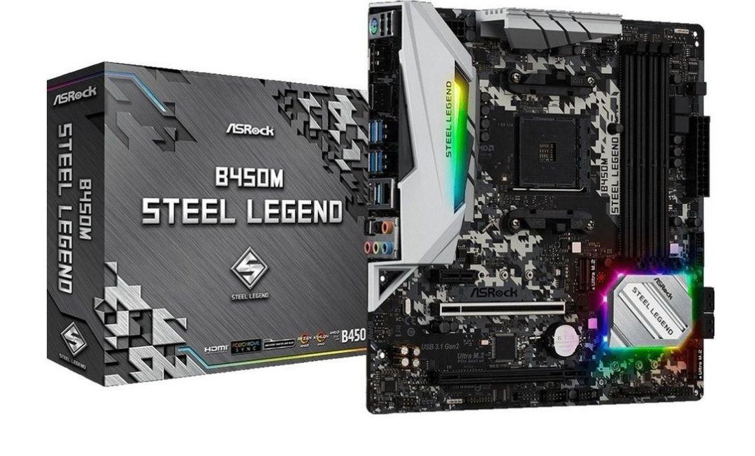 Asrock B450M Steel Legend