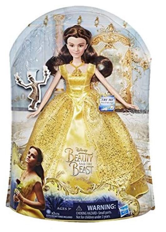 Muñeca Princesa Bella cantarina de Disney