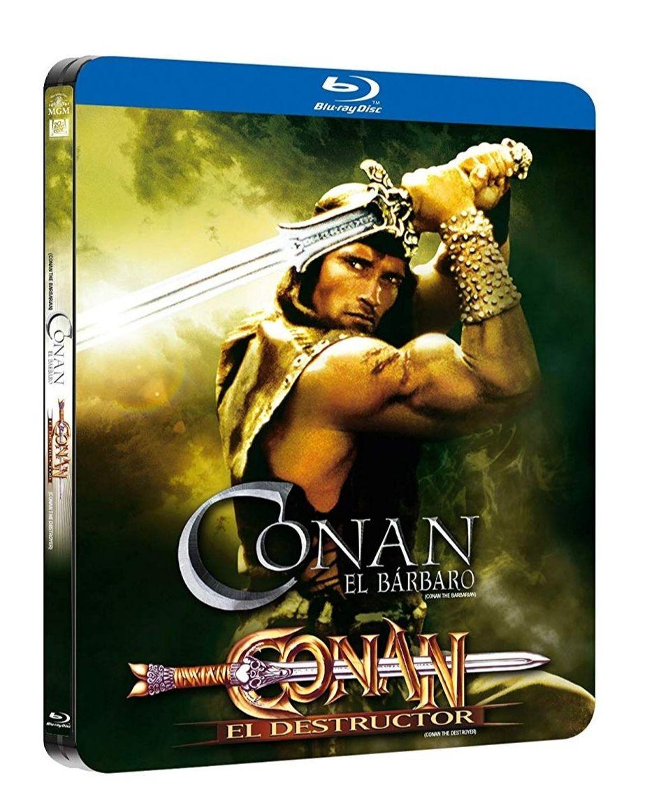 Pack Conan 1+2. Black Metal Edition Blu-Ray [Blu-ray]