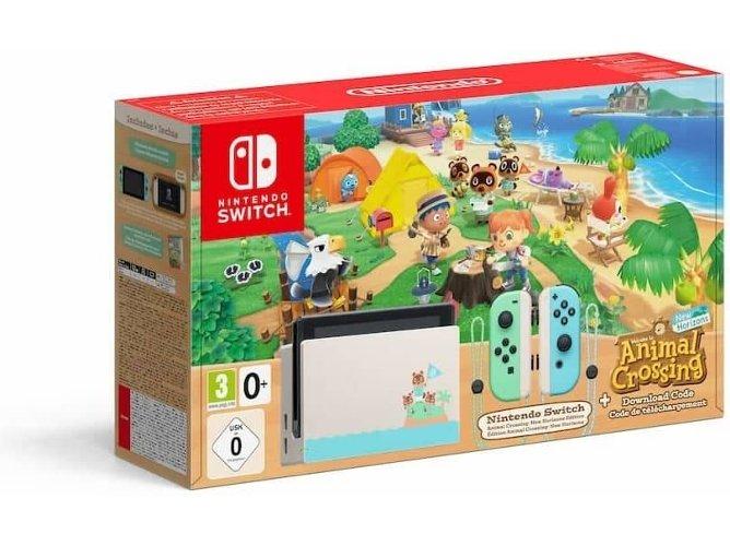 Consola Nintendo Switch Animal Crossing: New Horizons (Precio mínimo visto)