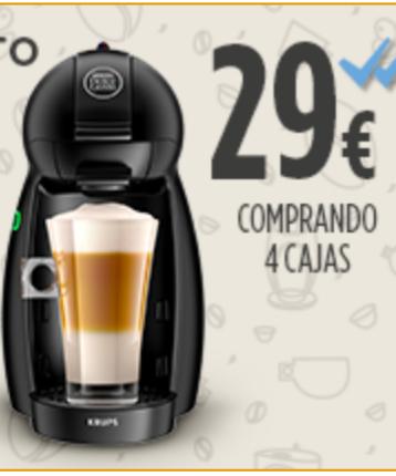 Cafetera PICCOLO dolce gusto + 64 cápsulas