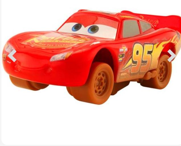 3 coches de Cars (varios modelos a elegir) y más cosas en el interior