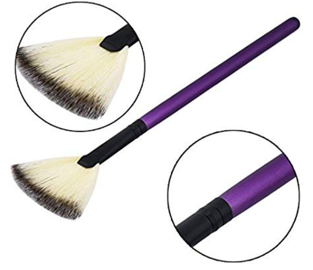 Brochas Euiristore, 1pieza, profesional, cepillo para rostro y mejilla, para maquillaje, contorno, polvos bronceadores