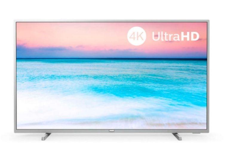 "Philips 50PUS6504 televisor de 50"" Ultra HD 4K."
