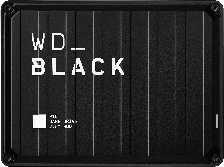 WD Black P10 Disco duro Game Drive de 5 TB ideal para Consola y PC