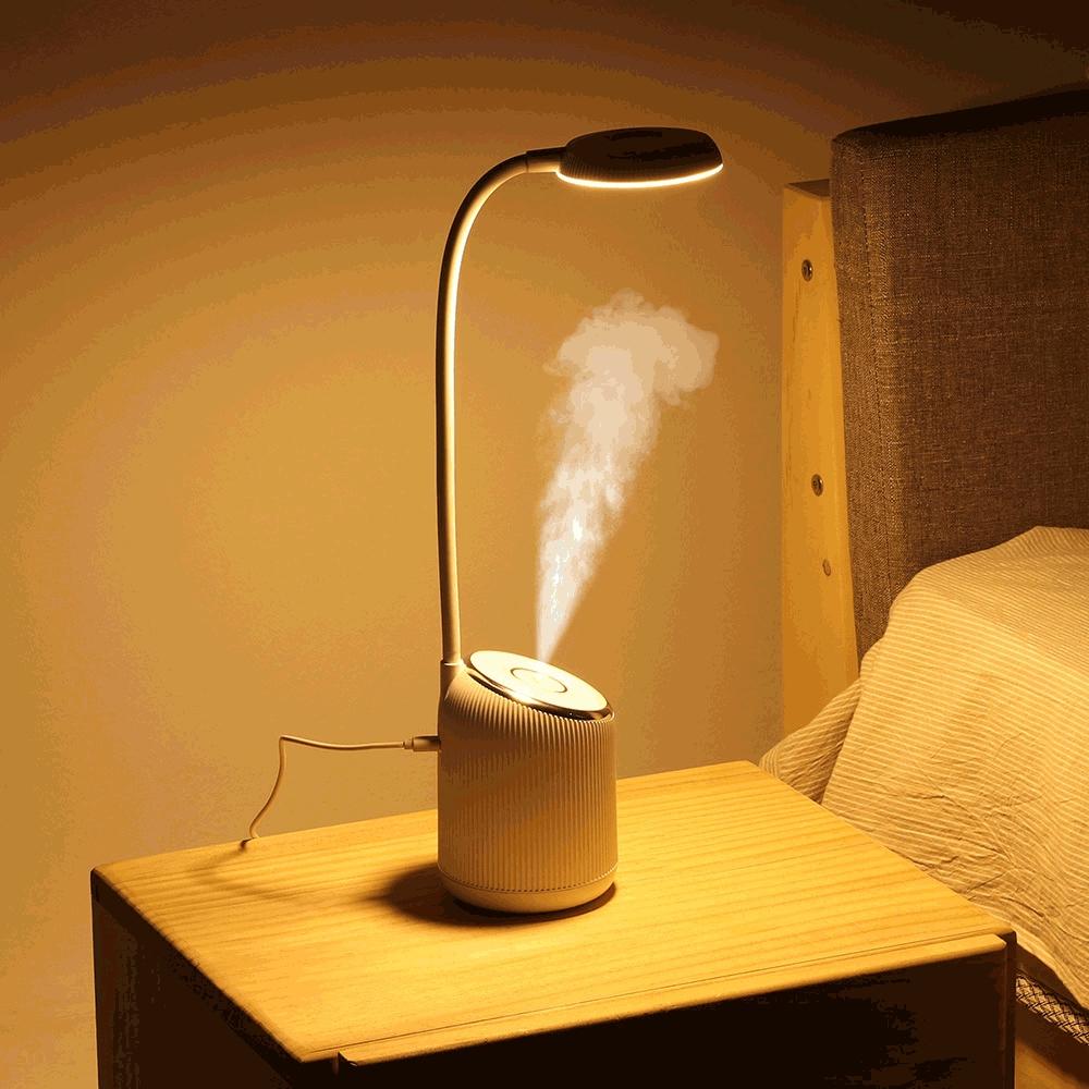 DIGOO DG-TD09 2W 280ML - Lámpara de mesita con humidificador