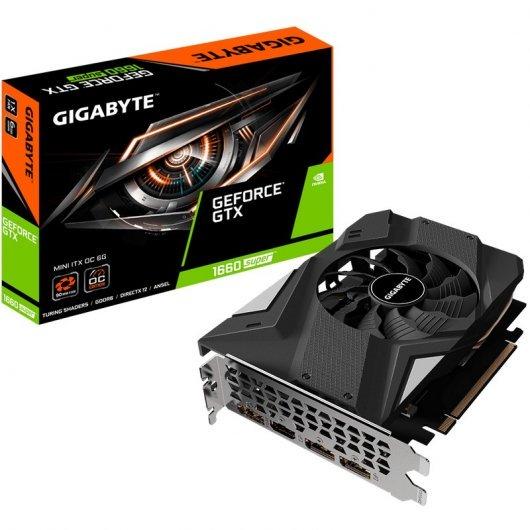 Gigabyte GeForce GTX 1660 SUPER Mini ITX (potencia similar a la GTX 1070)