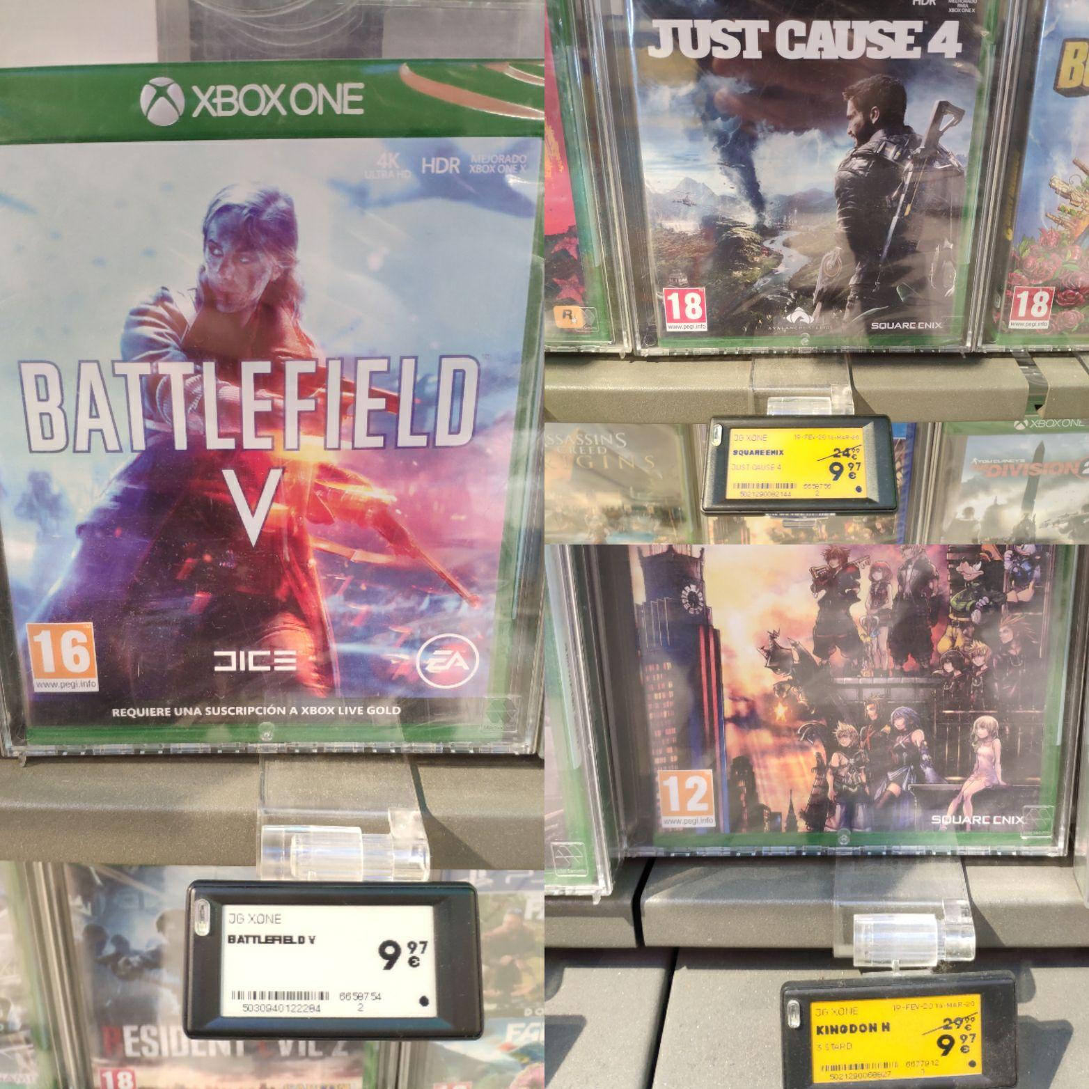 Juegos Xbox One por menos de 10€