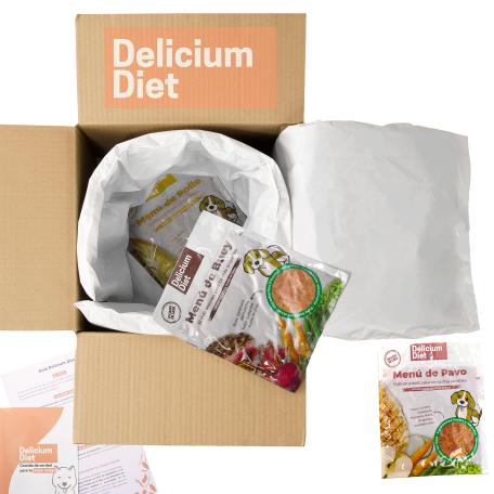95% descuento en Delicium Diet - 14 días de comida natural para desde 0.75€
