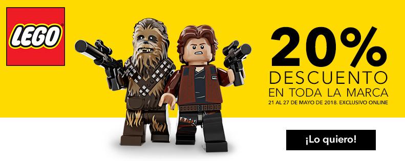 TOYSRUS: 20% Descuento en todo LEGO Y Playmobil