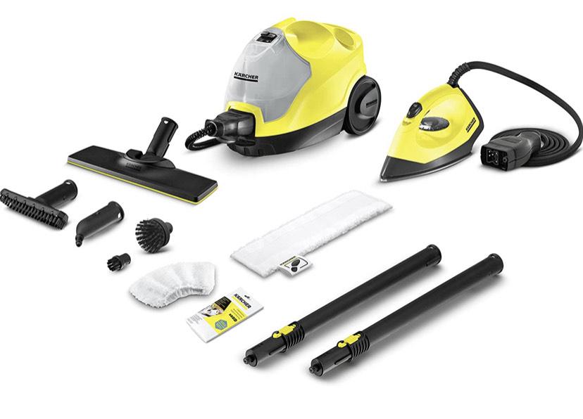 Kärcher Limpiadora de Vapor Manual SC 4 EasyFix + Kit PLANCHA PRECIO MINIMO