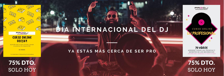 Curso Online de DJ Professional (Día del DJ, SOLO HOY)