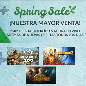 Spring Sale (Juego gratis steam si gastas +10€, Fanatical)