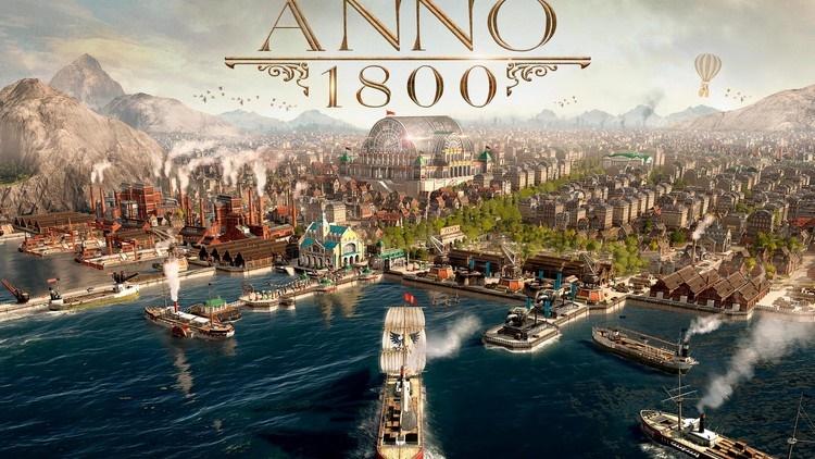 Anno 1800 juega GRATIS del 12 al 16 de Marzo Epic Store/Uplay