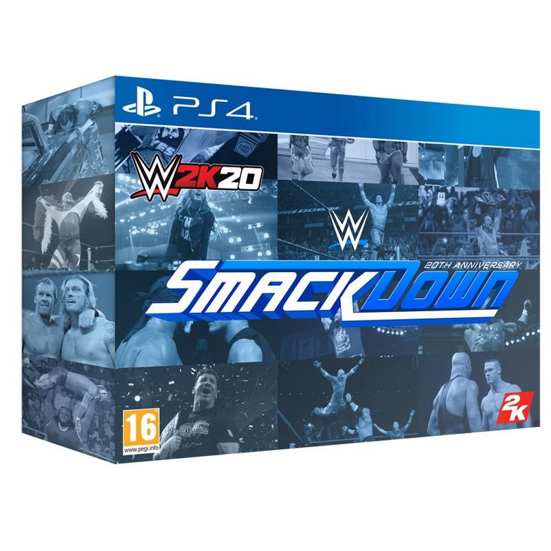 WWE 2K20 Edición Coleccionista PS4