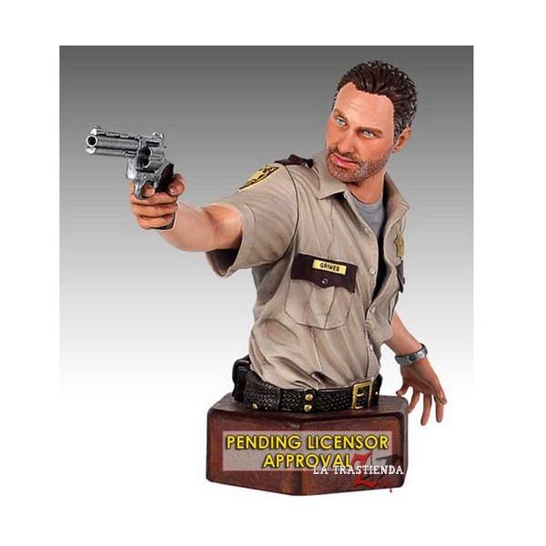 The Walking Dead, Busto Rick Grimes 18 cm