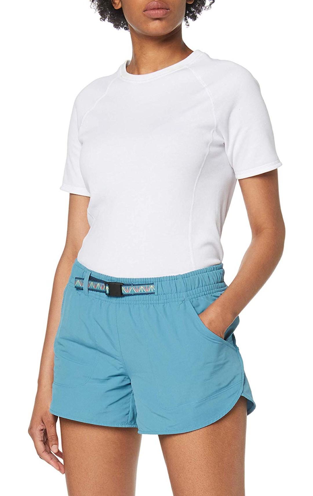 The North Face Class V 2.0 - Pantalón Corto de Senderismo Mujer con Factor de Protección 50 Talla XS