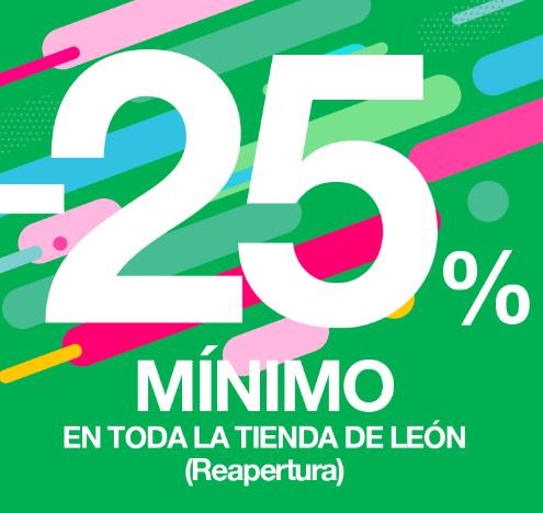 25% ForumSport en tienda LEON