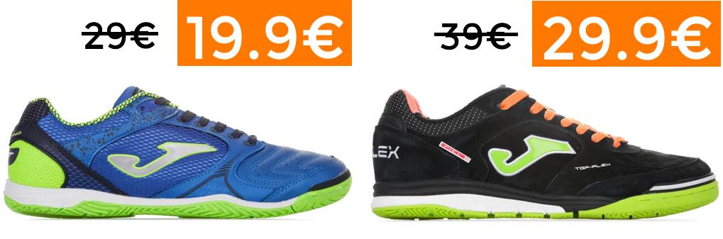 Selección de zapatillas de Futbol desde 19.95€