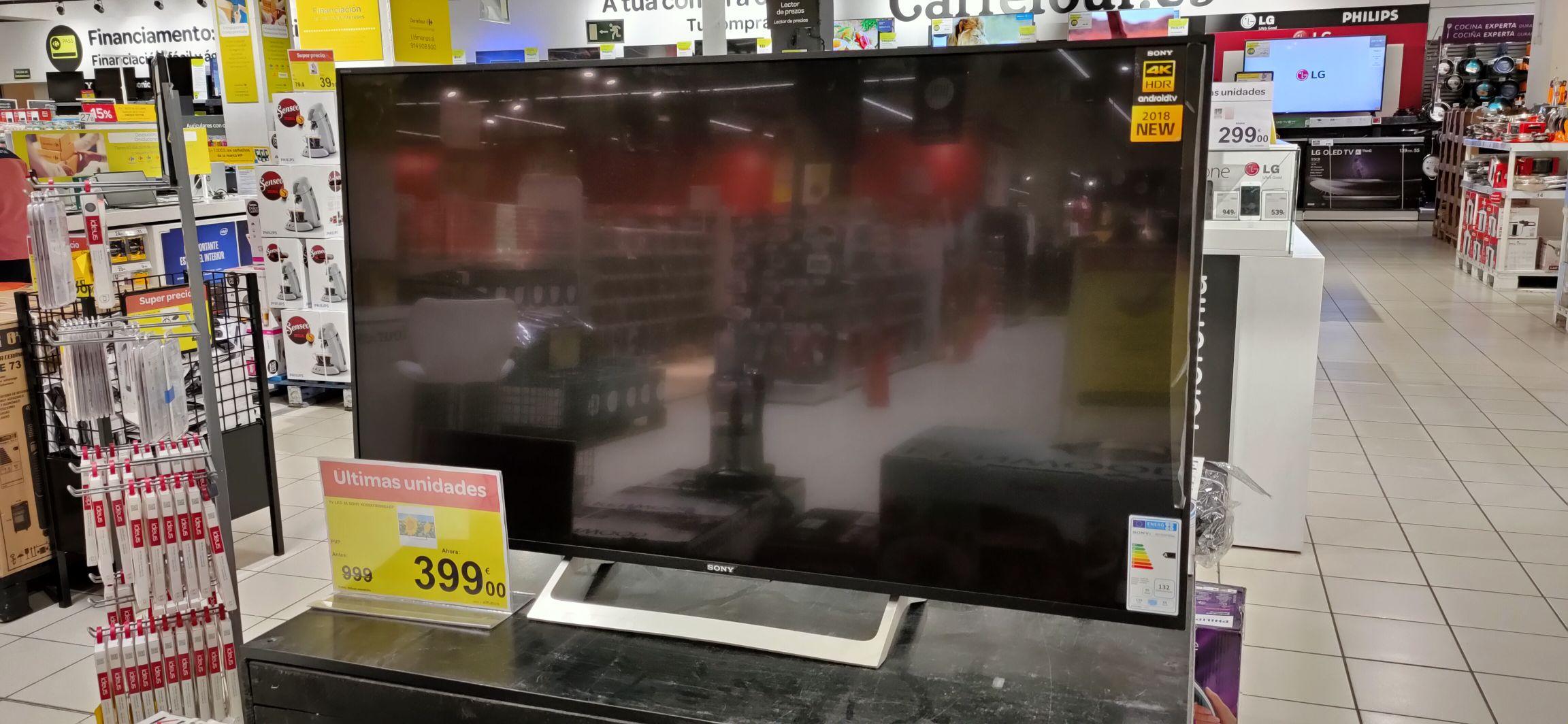 "Sony KD-55XF8096 - Televisor 55"" 4K HDR LED con Android TV"